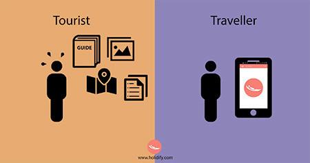 「観光客」vs「旅行者」の比較画像が分りやすい!!の画像(8枚目)