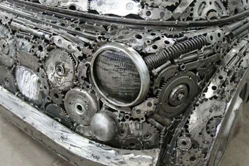 世界の名車のチールアートの画像(6枚目)