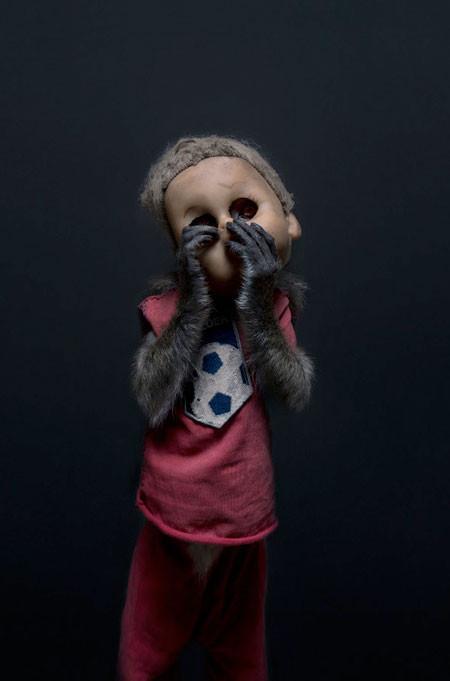 【画像】サルにマスクを被せたら凄まじく怖くなったwwwの画像(4枚目)