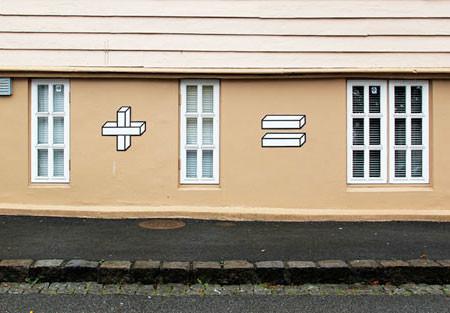 計算式にしているストリートアート04