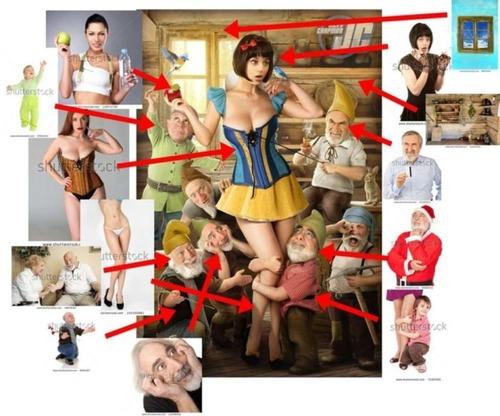 セクシーな女性のポスターの作成方法がよく分かる画像!の画像(2枚目)