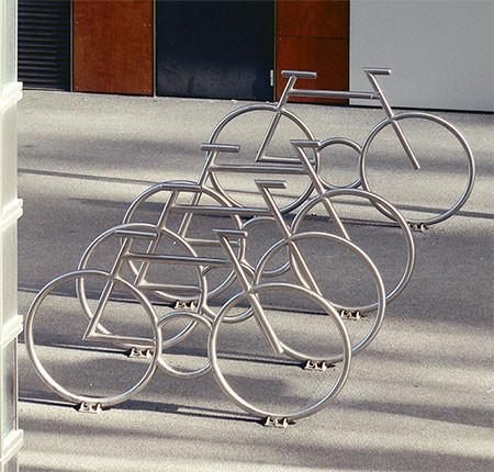 自転車の駐輪場02