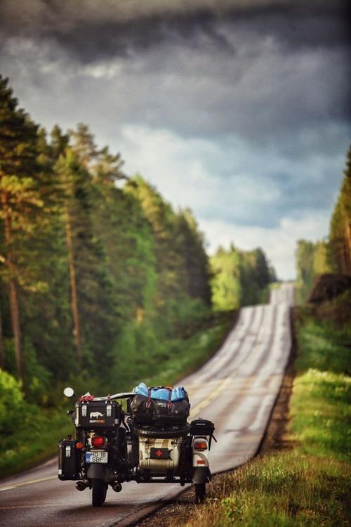 【画像】1台のバイクで家族3人が41カ国を4ヶ月で制覇!!の画像(7枚目)