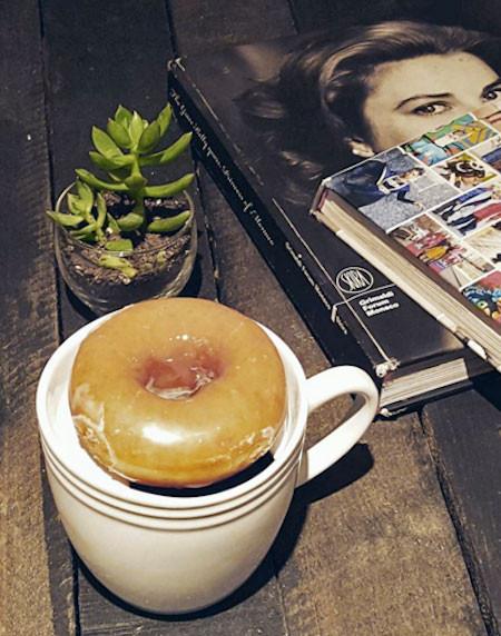 ドーナツが冷めにくくなるコーヒーカップの画像(8枚目)