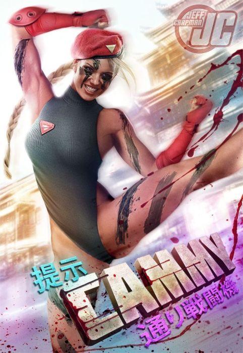 セクシーな女性のポスターの作成方法がよく分かる画像!の画像(14枚目)