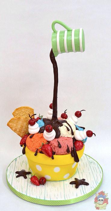 【画像】素晴らしすぎて食欲は起きないアートなケーキが凄い!!の画像(22枚目)