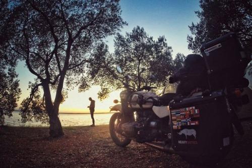【画像】1台のバイクで家族3人が41カ国を4ヶ月で制覇!!の画像(33枚目)