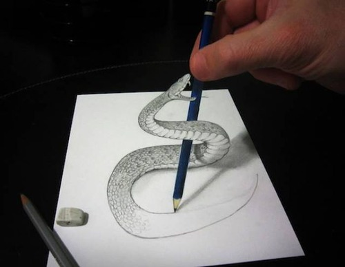 紙で作った3Dアートの画像(10枚目)