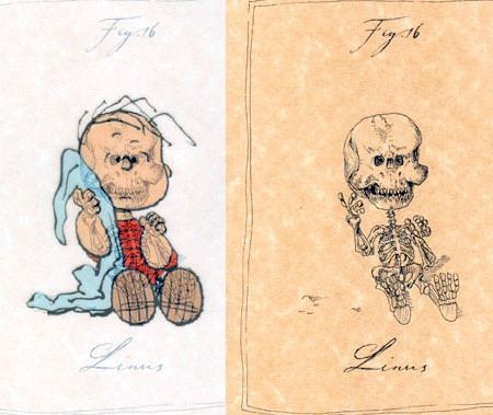 アニメや漫画のキャラクターの骨格のイメージ画像が凄いwwwの画像(9枚目)