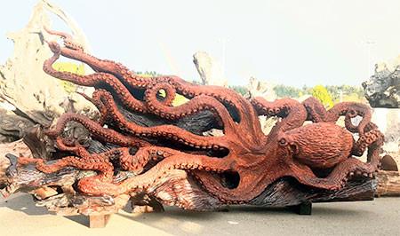 タコの彫刻08