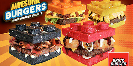 レゴのハンバーガーの画像(1枚目)