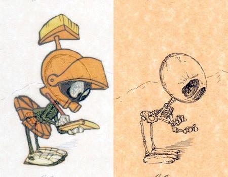 アニメや漫画のキャラクターの骨格のイメージ画像が凄いwwwの画像(6枚目)