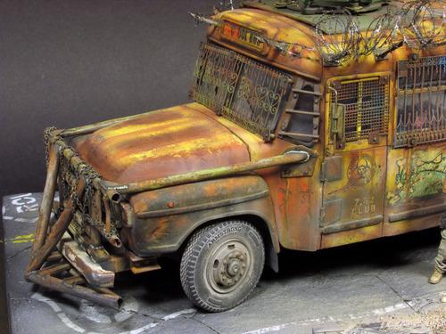 【画像】単なるバスのプラモでも超本気で作ると凄いことになるwwwの画像(54枚目)