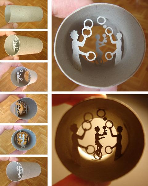 【面白アート】トイレットペーパーの芯で作る不思議な世界!の画像(19枚目)