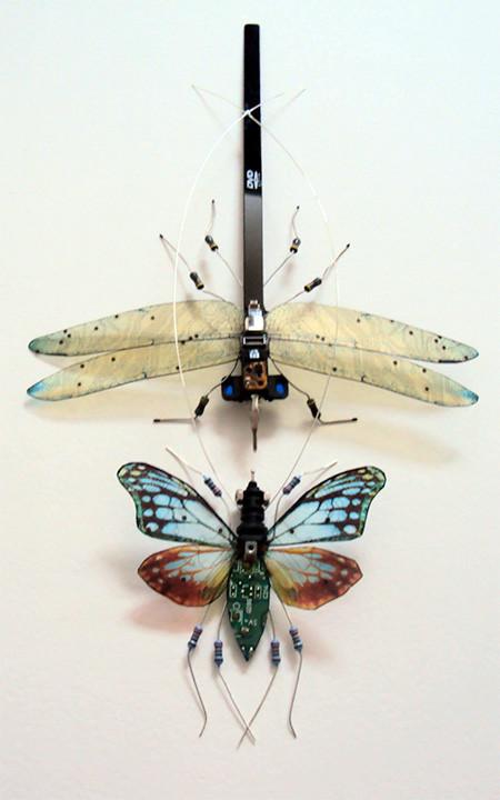 今にも動き出しそう!ちょっとリアルな電子部品でできた昆虫!!の画像(13枚目)