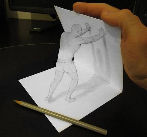 紙で作った3Dアートの画像(20枚目)