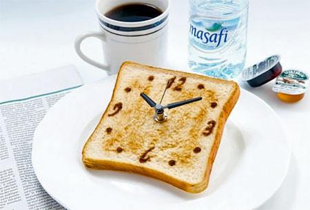 食パンの時計の画像(7枚目)