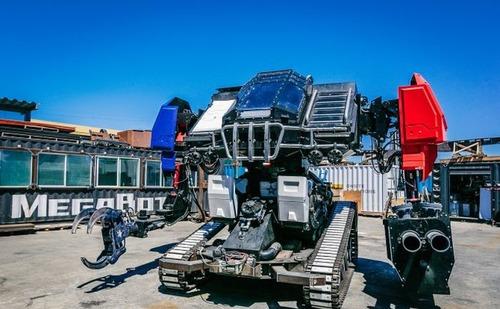 人が乗れる巨大ロボットの画像(9枚目)