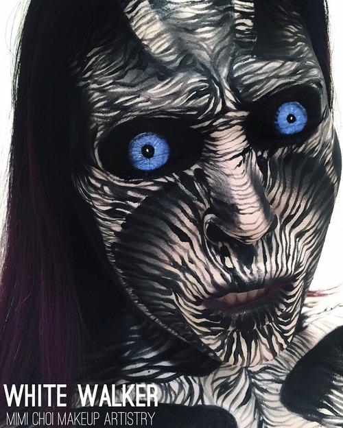 美人なのに怖すぎるフェイスペイントの画像(21枚目)