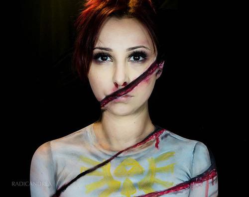 女性のメイクが怖すぎる!化粧のみで怖すぎる女性のメイクの画像の数々!!の画像(23枚目)