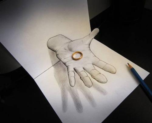 紙で作った3Dアートの画像(12枚目)