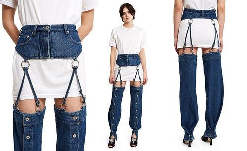 斬新なファッションの画像(1枚目)