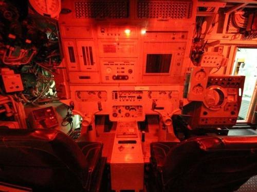 原子力潜水艦の内部の画像(19枚目)