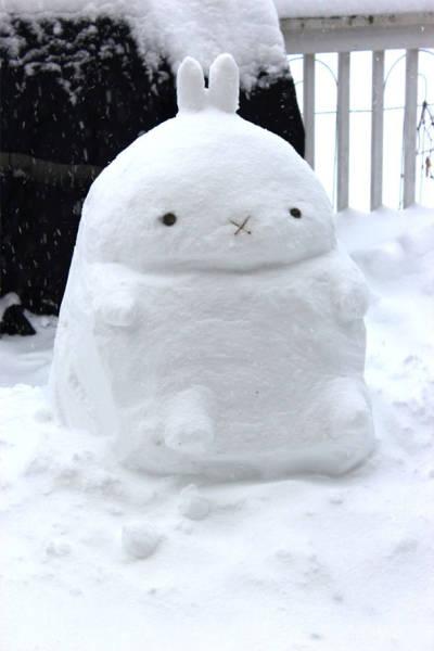 面白い雪だるまの画像(39枚目)