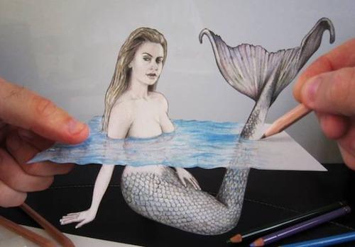 紙で作った3Dアートの画像(17枚目)
