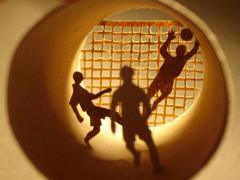 【面白アート】トイレットペーパーの芯で作る不思議な世界!の画像(5枚目)