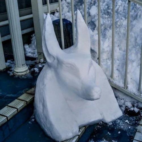 ハイクオリティな雪像の画像(4枚目)
