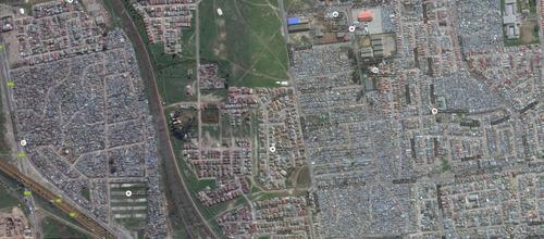 アフリカのケープタウンは富裕層と貧困層の住宅地2