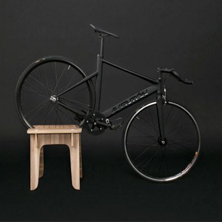 ちょっとした工夫で自転車の収納がカッコよくなる!の画像(6枚目)