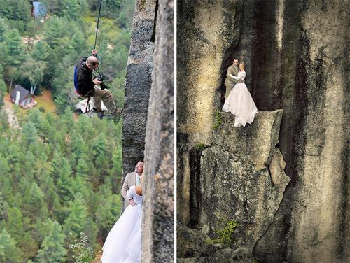 【画像】結婚式も凄い!エクストリームウェディング!!の画像(6枚目)