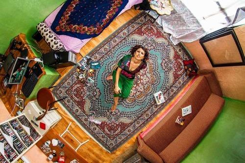 世界各国の人達のベッドルームの画像(7枚目)