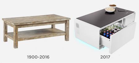 冷蔵庫つきのテーブルの画像(3枚目)