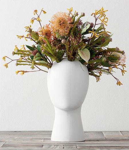 【画像】人の頭から花や植木が生えてくる植木鉢wwwの画像(6枚目)