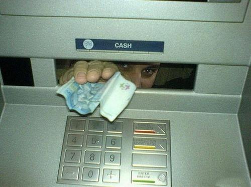 ヤバイ銀行のATMの画像(5枚目)