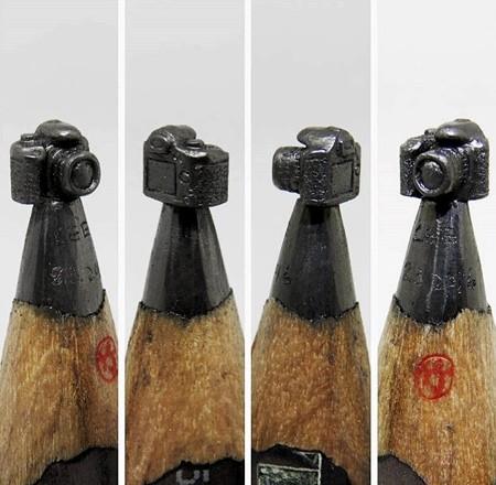 鉛筆の芯の彫刻18