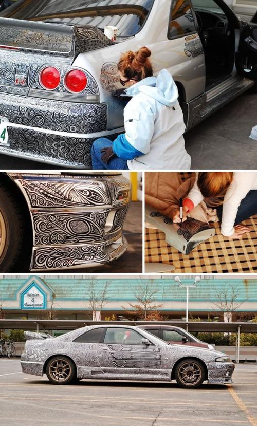 面白い自動車の改造や使い方の画像(2枚目)