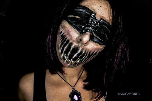 女性のメイクが怖すぎる!化粧のみで怖すぎる女性のメイクの画像の数々!!の画像(13枚目)