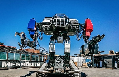 人が乗れる巨大ロボットの画像(1枚目)