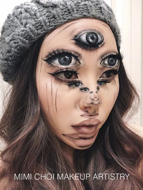 美人なのに怖すぎるフェイスペイントの画像(7枚目)