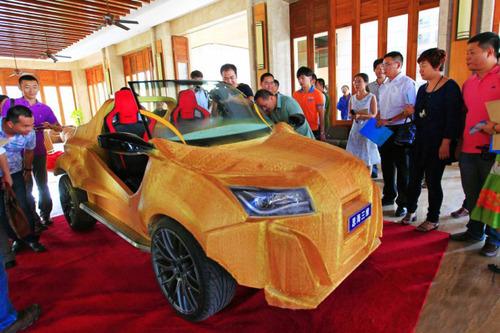 中国の3Dプリンタで作られた自動車がなんだかヤバイ!の画像(1枚目)