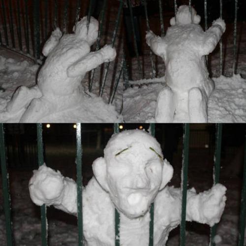 【画像】海外の雪祭りとか色々な雪像がやっぱ海外って感じで面白いwwwの画像(30枚目)