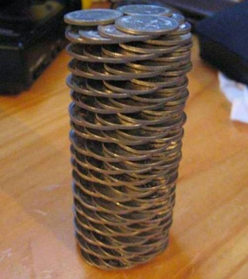 コインを使ったアート作品の画像(18枚目)