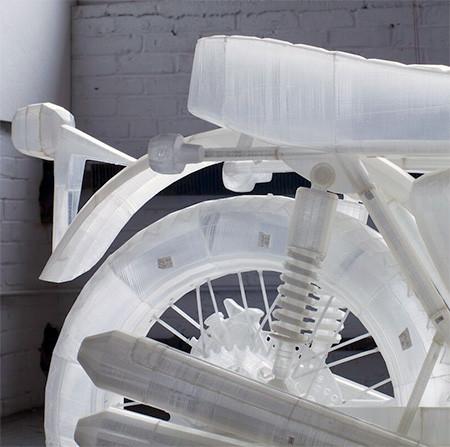 3Dプリンタで作った実物大のバイクの模型04