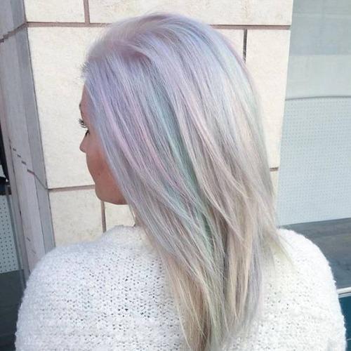 虹のような髪の毛の女の子の画像(24枚目)