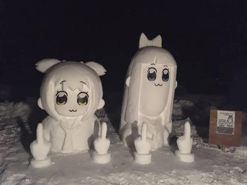 ハイクオリティな雪像の画像(26枚目)