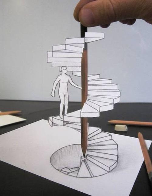 紙で作った3Dアートの画像(22枚目)
